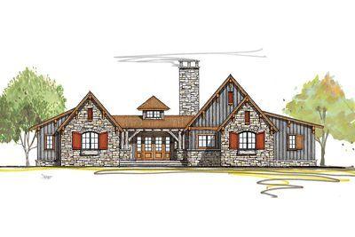 Plan 18846CK: Rustic Mountain Ranch House Plan | Mountain ranch ...