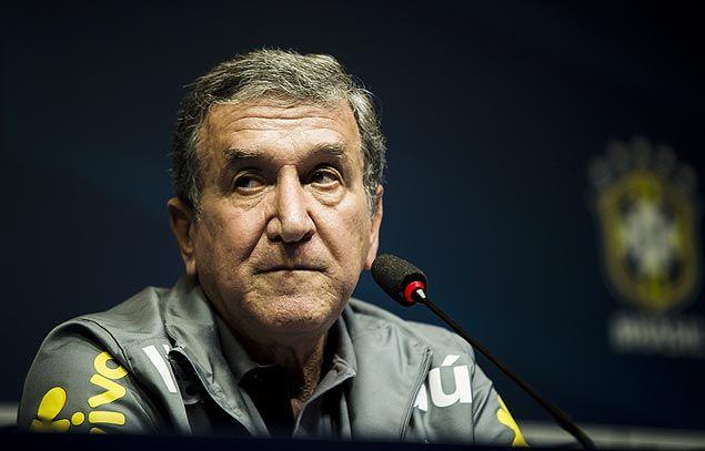 'Não somos os melhores, mas podemos levar a Copa', diz Parreira