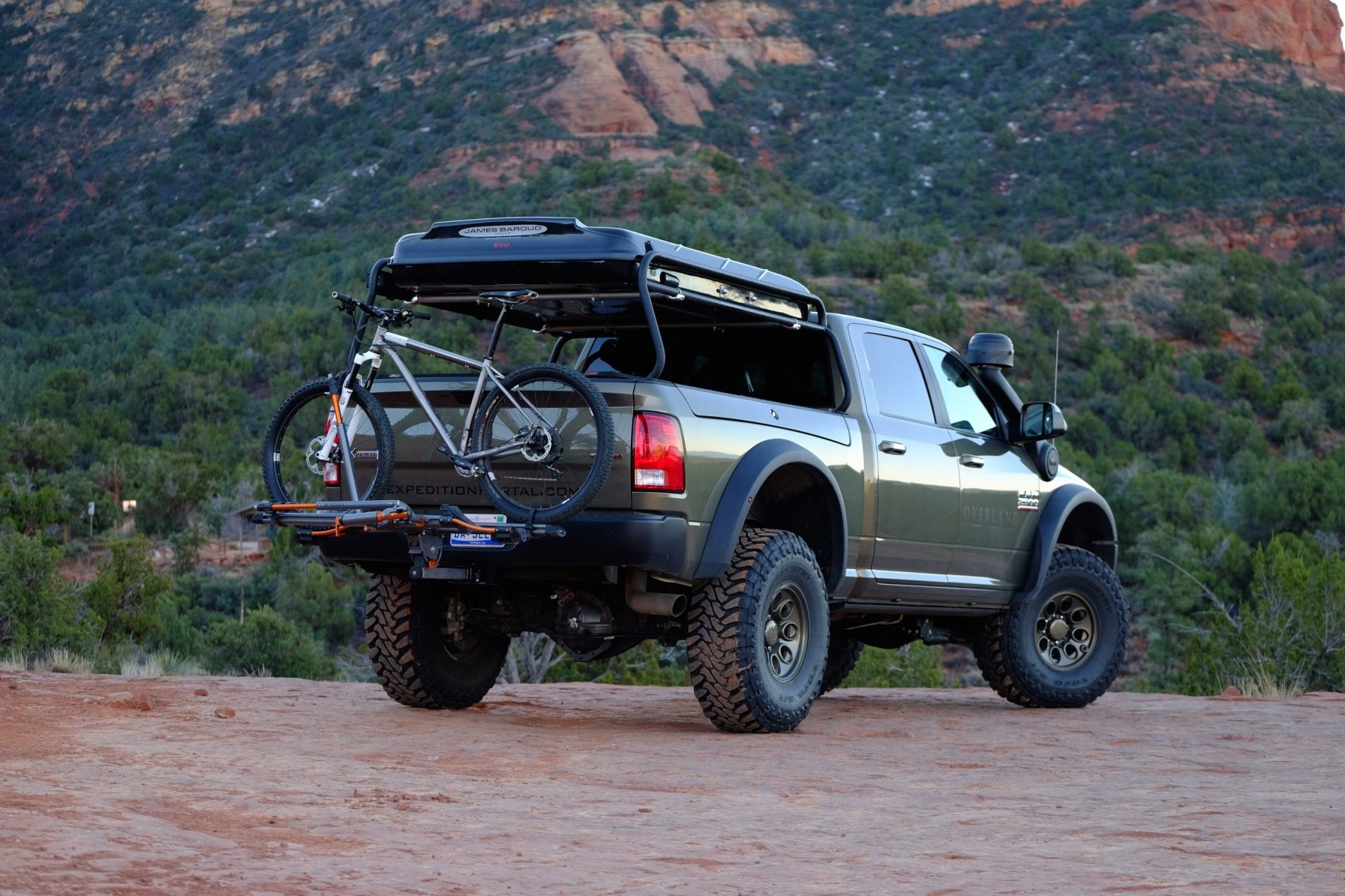 American Expedition Vehicles Ram 2500 project, now called