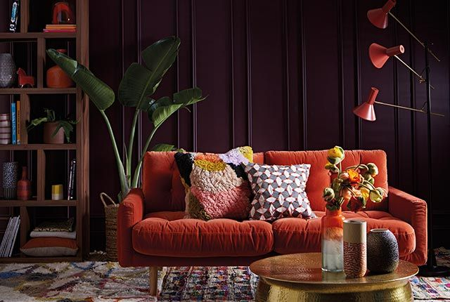 Colour Psychology The Autumn Personality is part of Dark Warm Living Room - Based on the concept of colour psychology, Sophie Robinson explains the Autumn personality and their interiors taste and style