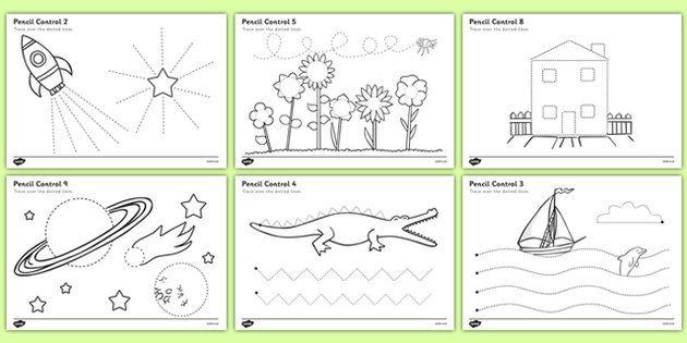 Christmas Elf Pen Control Sheet Christmas Activities Christmas Activities For Kids Preschool Theme Activities