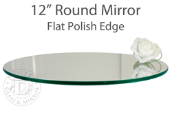 12 Inch Round Mirrors Round Mirrors Mirror Table Mirror Centerpiece