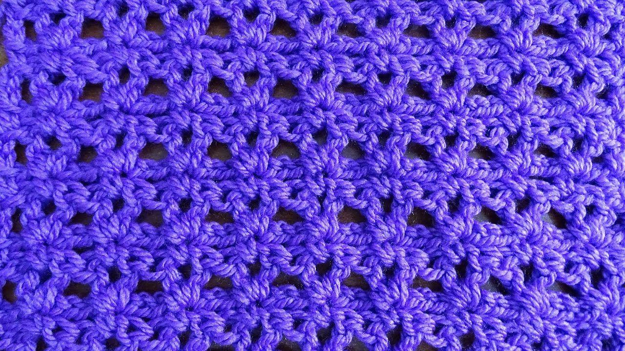 Easy V Stitch - Crochet Tutorial | Crochet Stitches | Pinterest ...