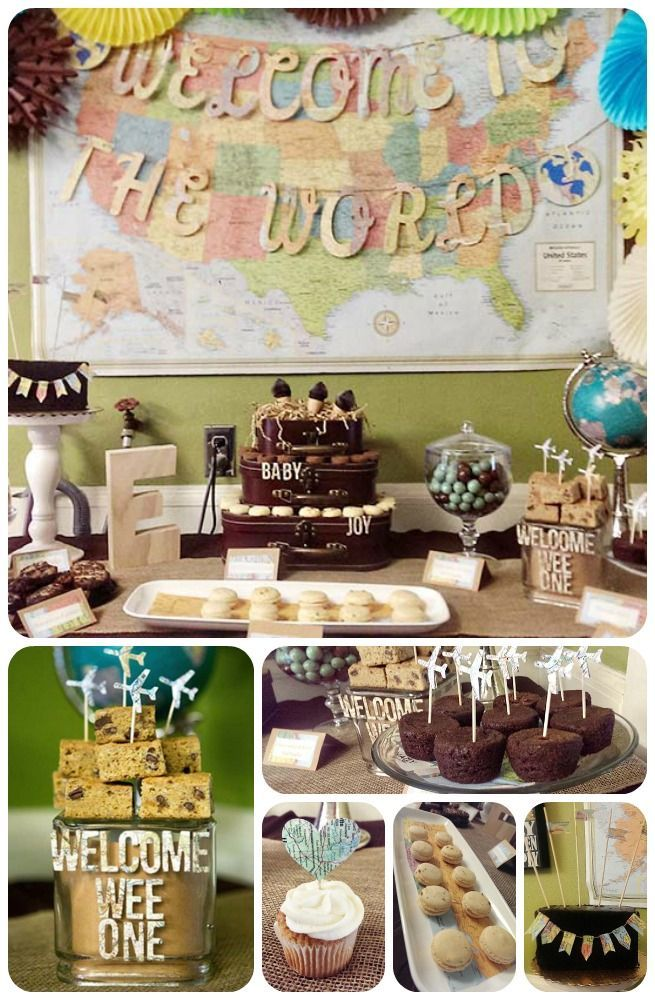 Our Welcome To The World Baby Shower Baby Shower Ideas Baby