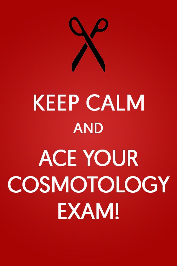 Keep Calm and Ace Your Cosmotology Exam - Get the help you need on - job test