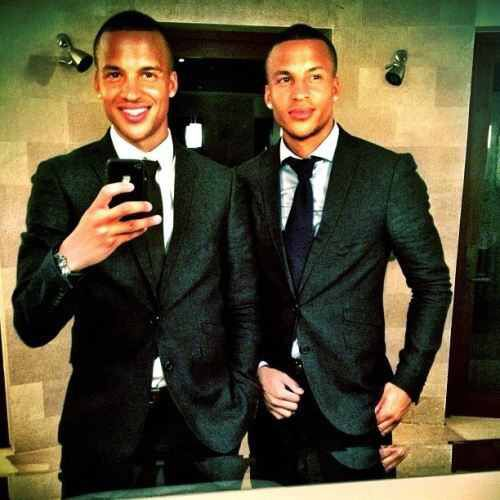 Twin Brothers in a suit!