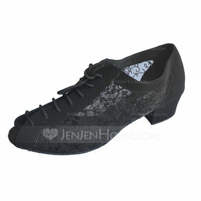 Women's Leatherette Heels Ballroom Dance Shoes (053018543)