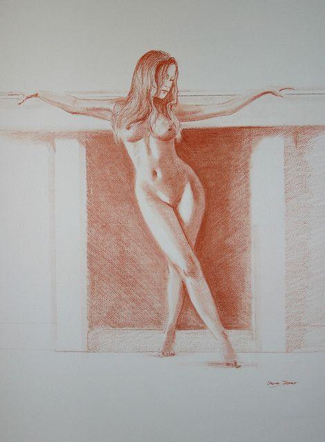 Pastel nude 2   Flickr - Photo Sharing!