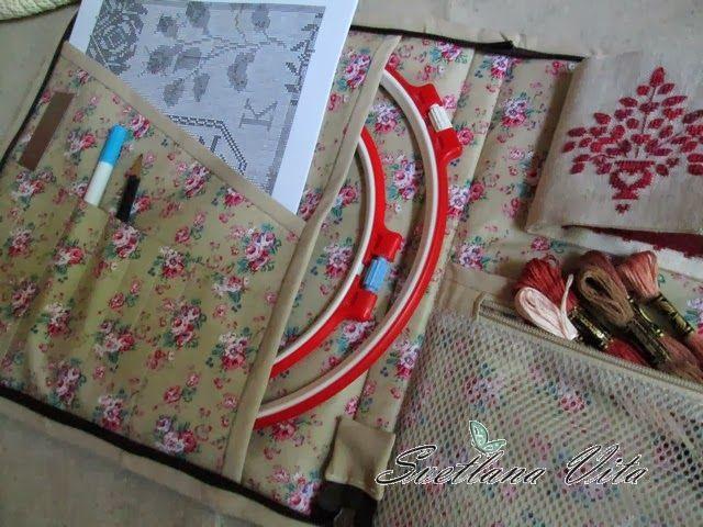 36cea911d7a8 Странички жизни: Органайзер для рукоделия | полезности | Sewing ...