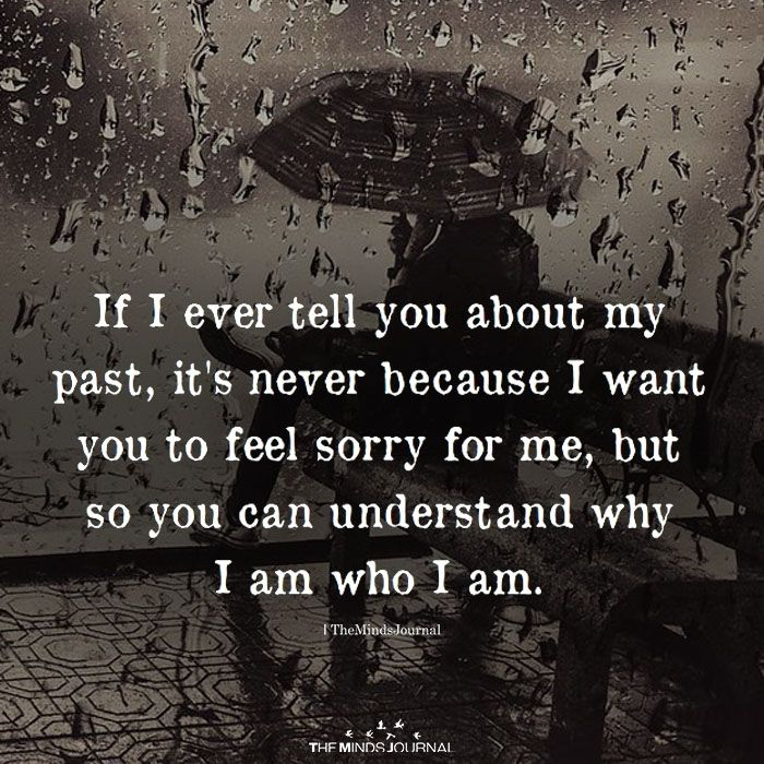 If I Ever Tell You About My Past