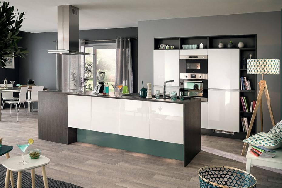 Elégance et modernité dans la cuisine Virtuose ! #socooc #cuisines