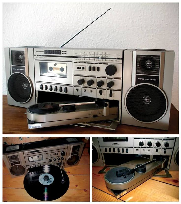 Havauxes STPR-4000 Turntable Boombox what a dream.