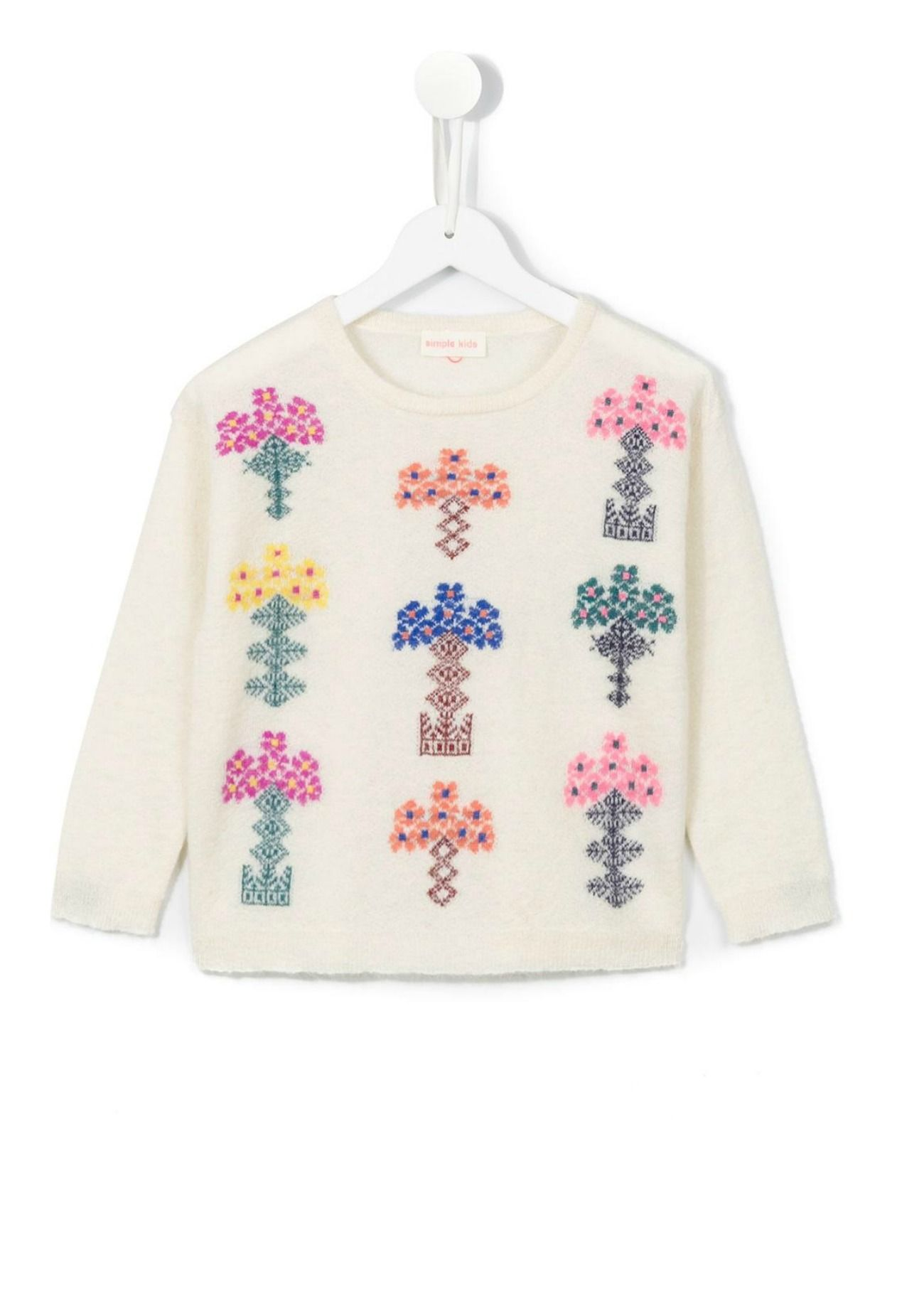 d5d605827bc Floral Knit Jumper | Simple Kids | Baby essentials | Knitting, Knit ...