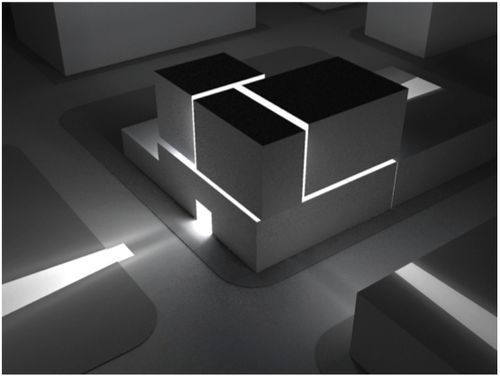 Architectural model lighting google search pinteres for Studium raumgestaltung innenarchitektur