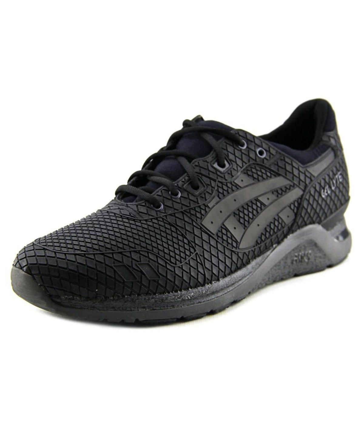 Gel Toe Black Youth Round Synthetic Lyte Sneakers Asics Evo wn0mN8