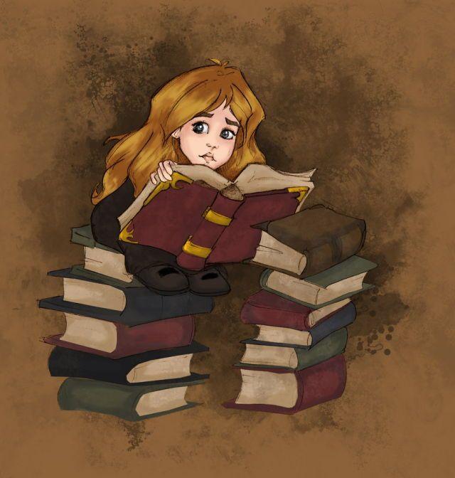 Resultado de imagem para hermione livro