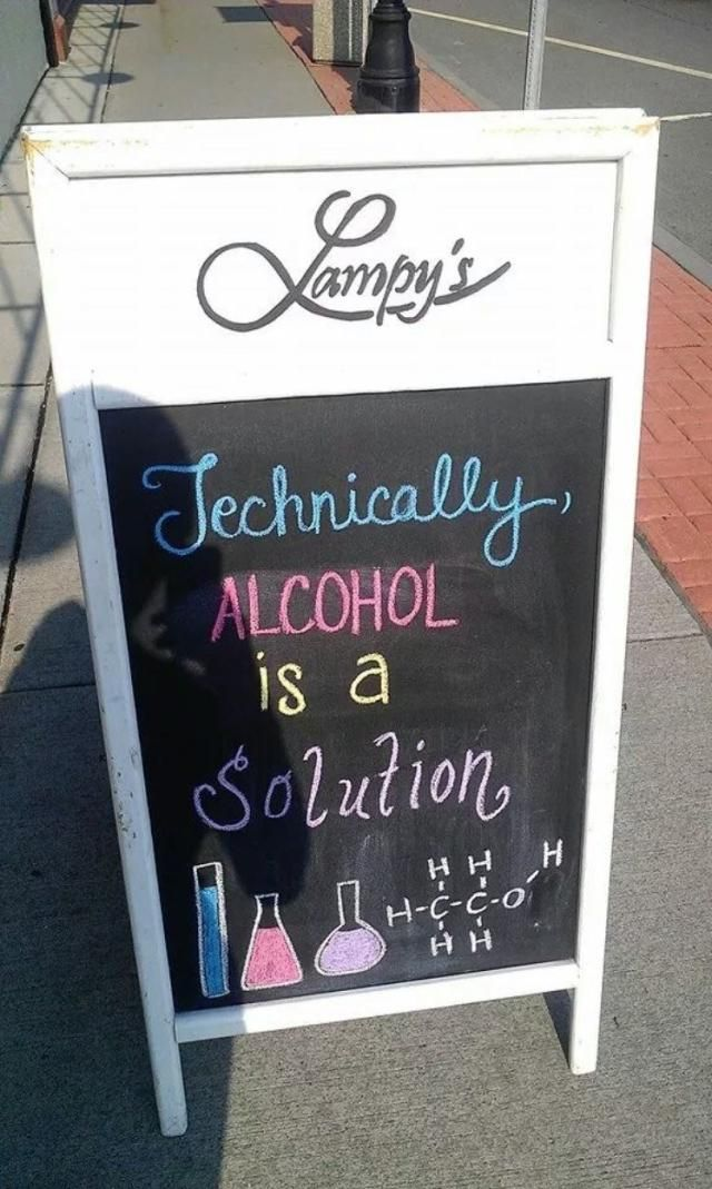 Funny Quotes Chalkboard Bar Chalkboards And Cheer