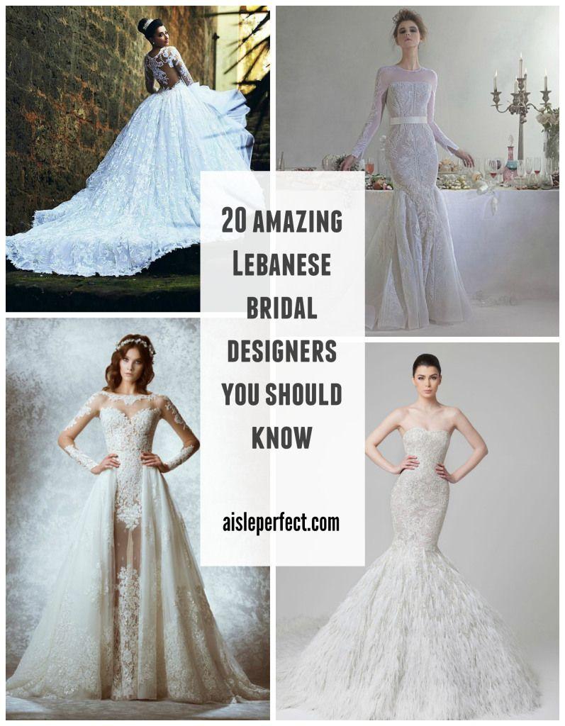 20 Pretty Perfect Lebanese Wedding Designers Lebanese Wedding