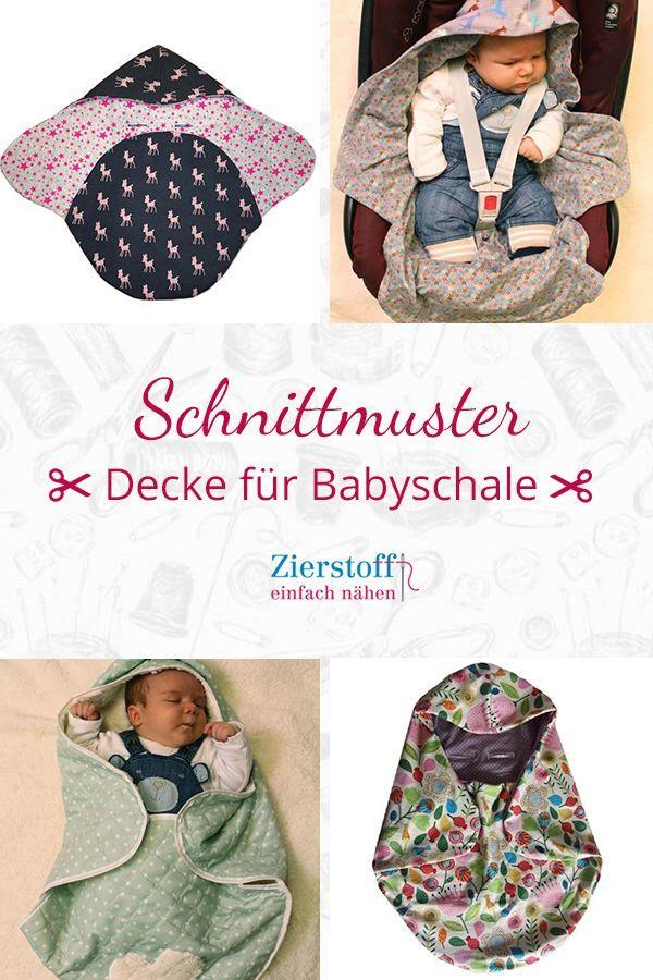 Schnittmuster Decke für Babyschale MANOLO [Digital]