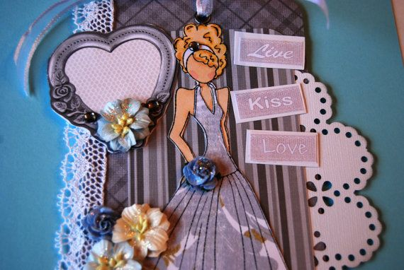 Handmade Prima Doll Tag Live Kiss Love Doll in by Smiles4Paper