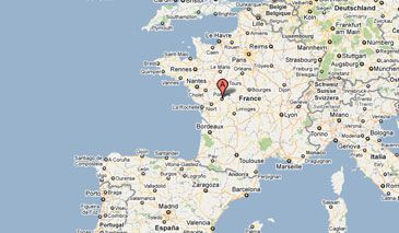 Poitiers France Location Centrally Located Places Ive Been - Where is france located