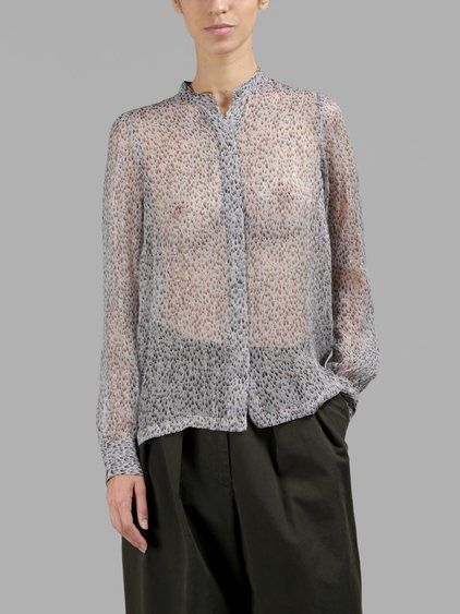 DRIES VAN NOTEN DRIES VAN NOTEN WOMEN'S MULTICOLOR SHIRT. #driesvannoten #cloth #shirts