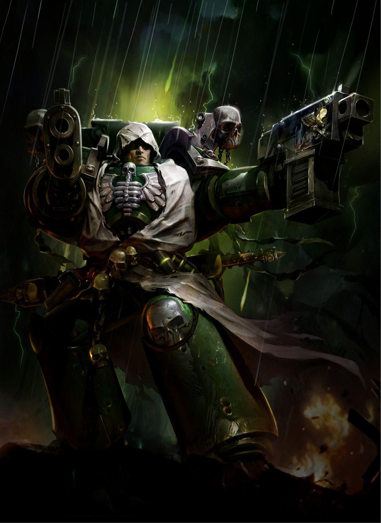 Cypher The Fallen One Warhammer 40k Artwork Warhammer 40k Dark Angel