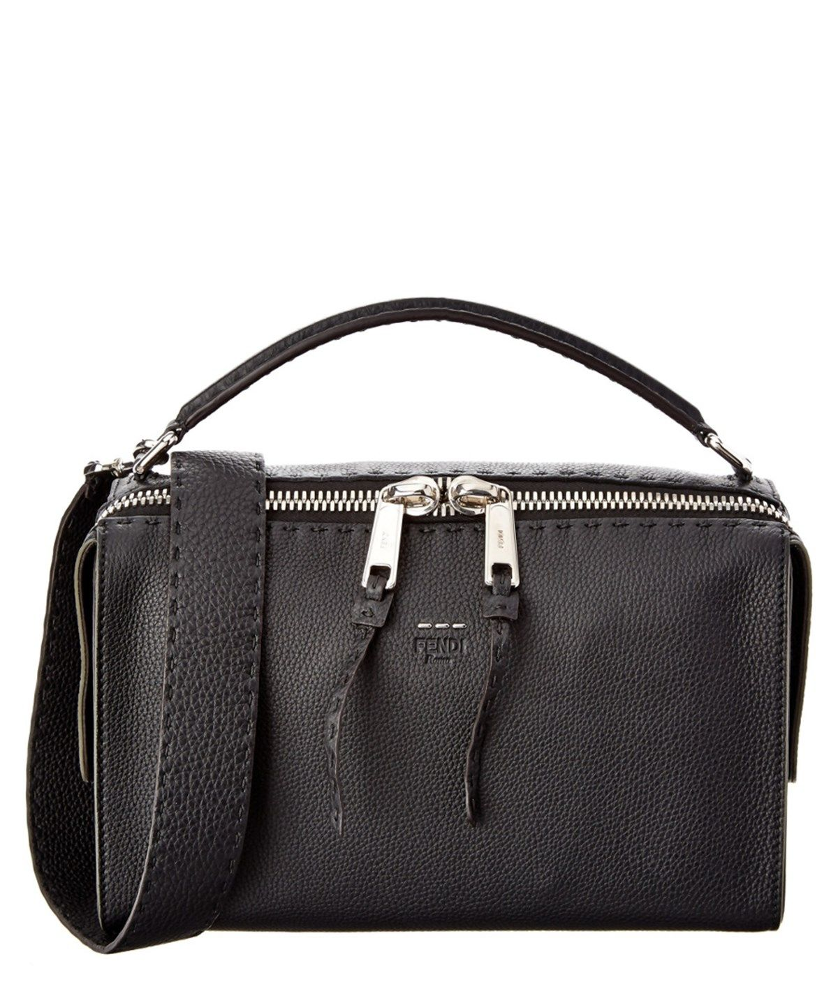 FENDI Fendi Lei Selleria Leather Boston Bag .  fendi  bags  shoulder bags   hand bags  leather  lining   ea186a59b0a8f