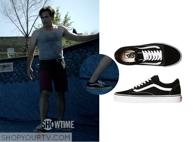 Shameless: Season 5 Episode 1 Sean's Black Sneakers
