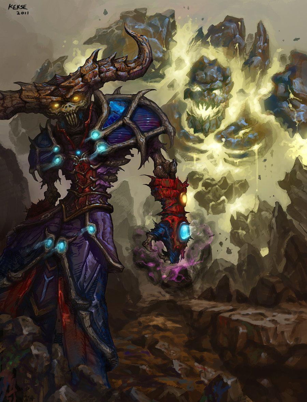 Pin By Art Link On Inspiration Races Warcraft Art Wow Warlock World Of Warcraft