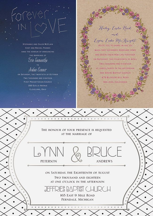 Wedding Invitations from Invitations By Dawn | Green wedding ...