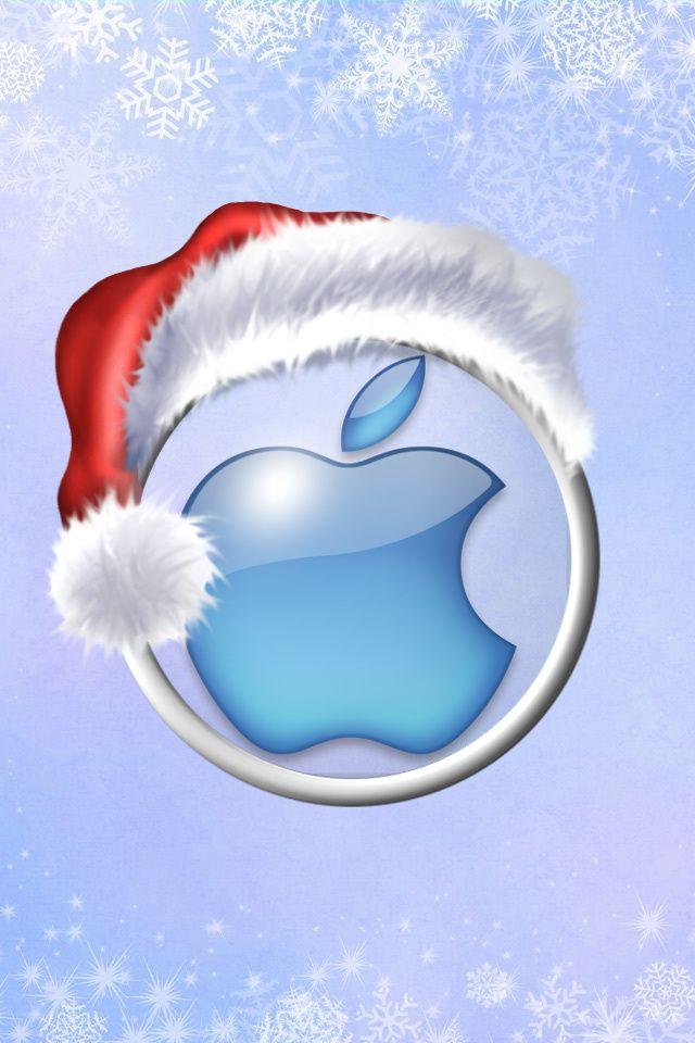 Christmas Apple iPhone Logo - Bing images | Christmas Wallpaper ...