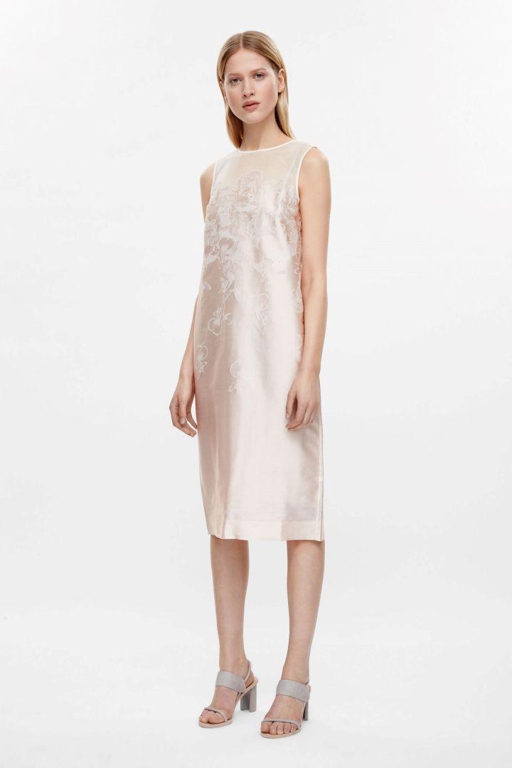 COS | Jacquard flower dress | Mother of the bride | Pinterest