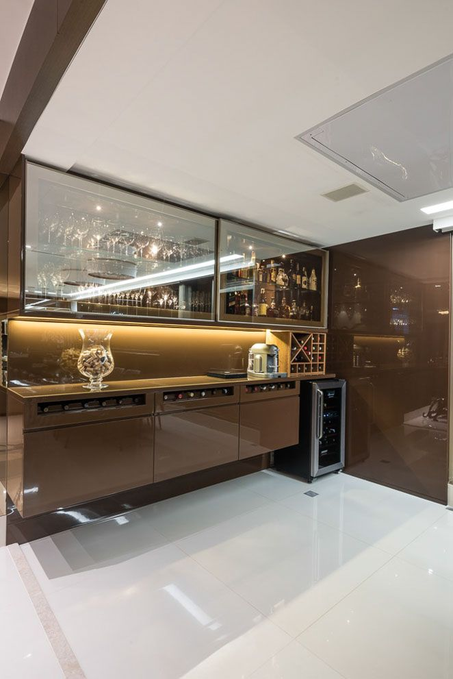 Varanda gourmet adega sala de estar sala de jantar decora o ambientes integrados ideias - Armarios para sala de estar ...