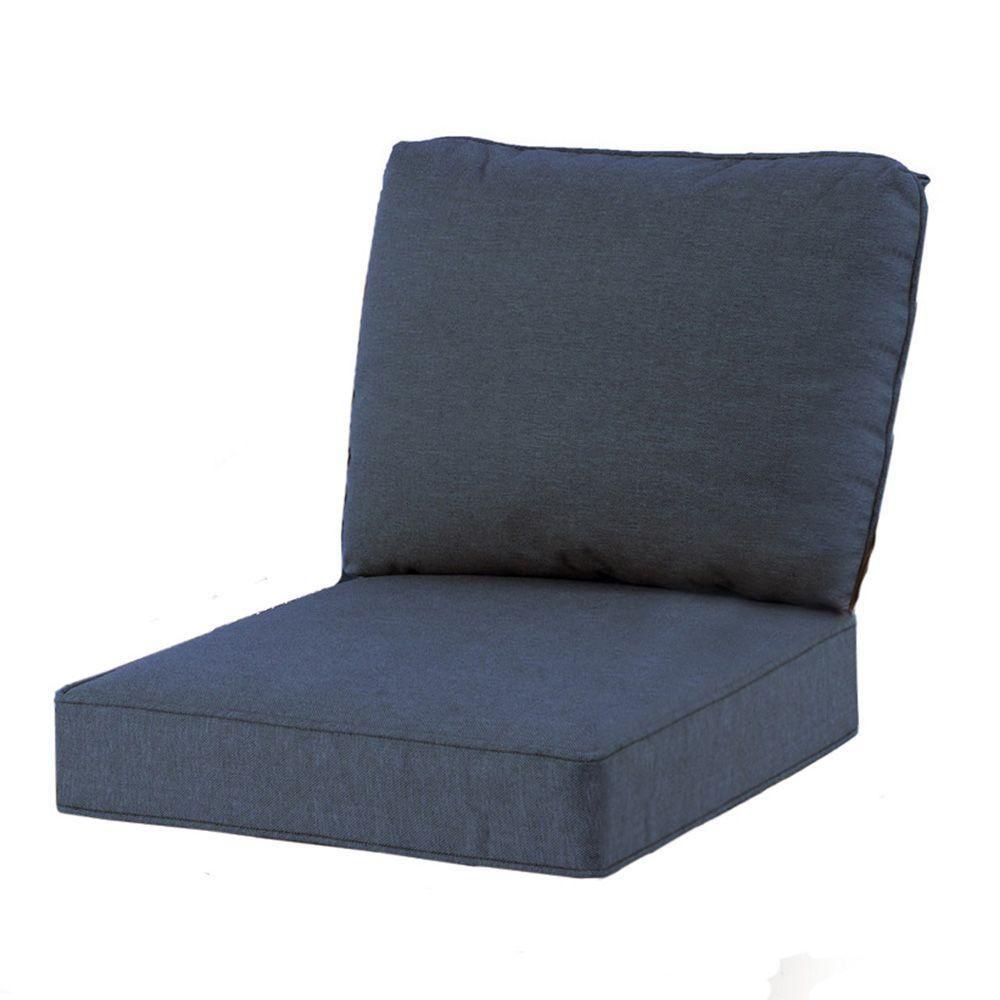 Hampton Bay Spring Haven 23 25 X 27 Outdoor Chair Cushion In