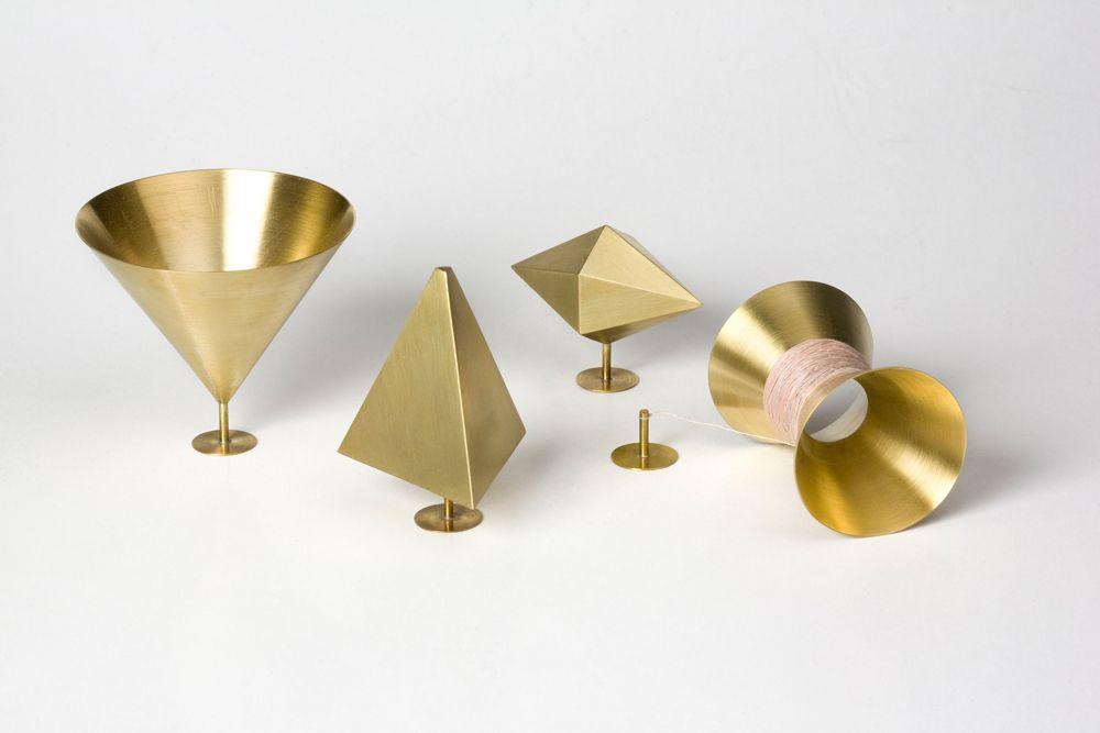 Barbora Jamrichová. Ring: Untitled, 2012. Brass.