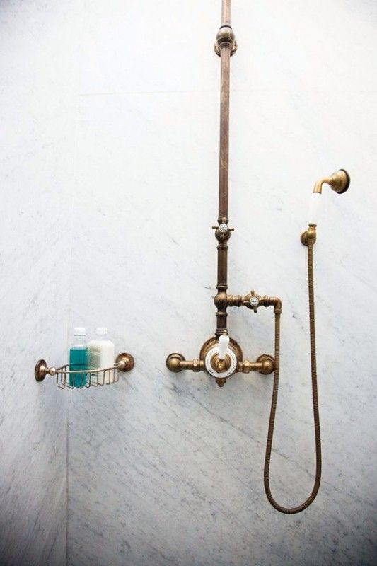 Photo of Antique Brass Shower Fixtures for 2020