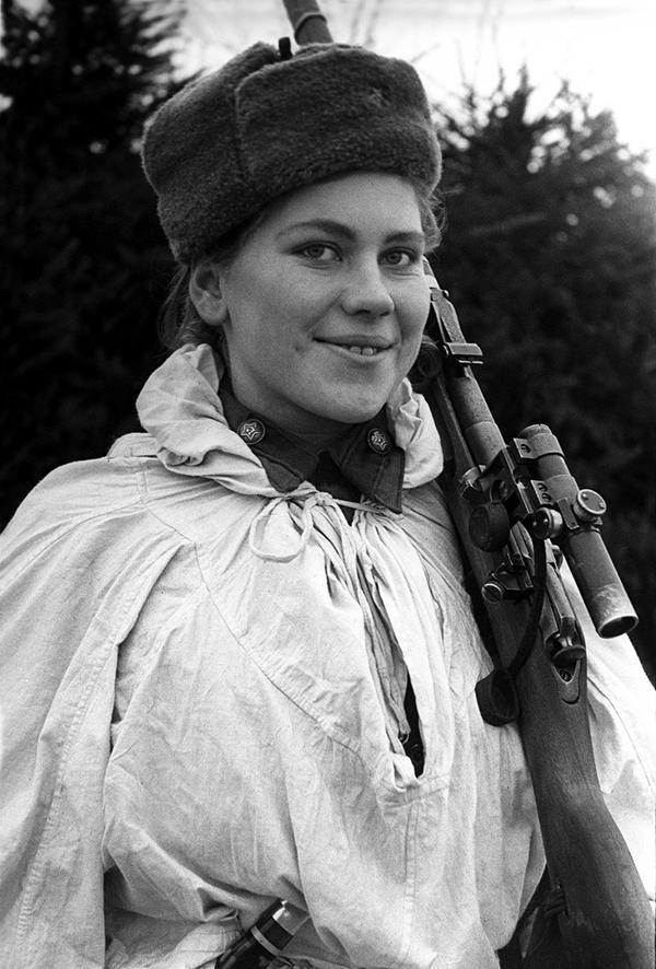 Снайпер Роза Шанина (биография, 15 фото) | Исторические ...