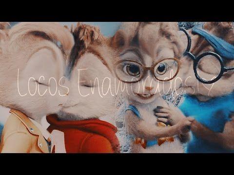 Alvin X Brittany Simon X Jeanette Locos Enamorados Alvin Y Las Ardillas Youtube Ardillas Fotos Canciones