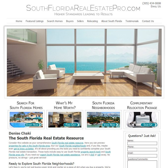 Pin On Dakno Real Estate Web Design Portfolio