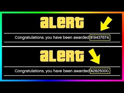 Awesome Rockstar Giving Out Millions Of Dollars Free Money To Players In Gta Online Insane Cash Bonus