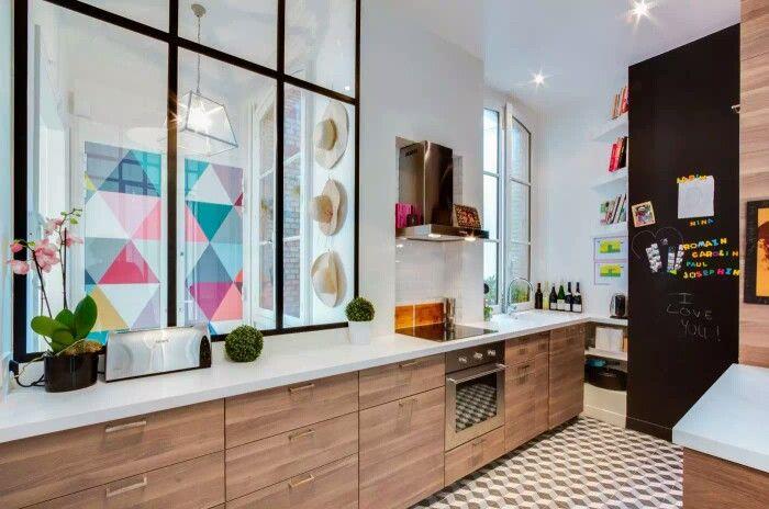 Ideal kitchen arrangement for My dream house