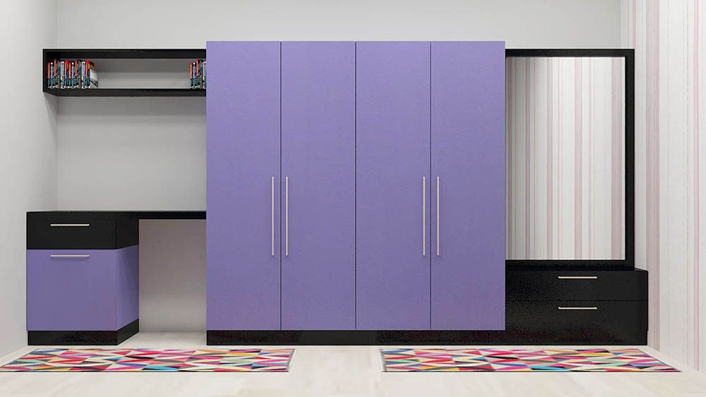 Gazania Wardrobe With Laminate Finish In 2019 Small
