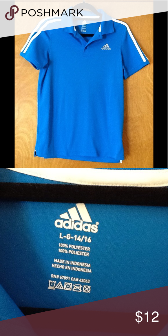 adidas polo youth