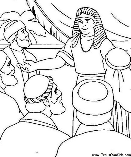 1z Genesis Joseph Reveals Himself To His Brothers Www Jesusownkids Com Sunday School Coloring Pages Bible Crafts Bible Coloring Pages