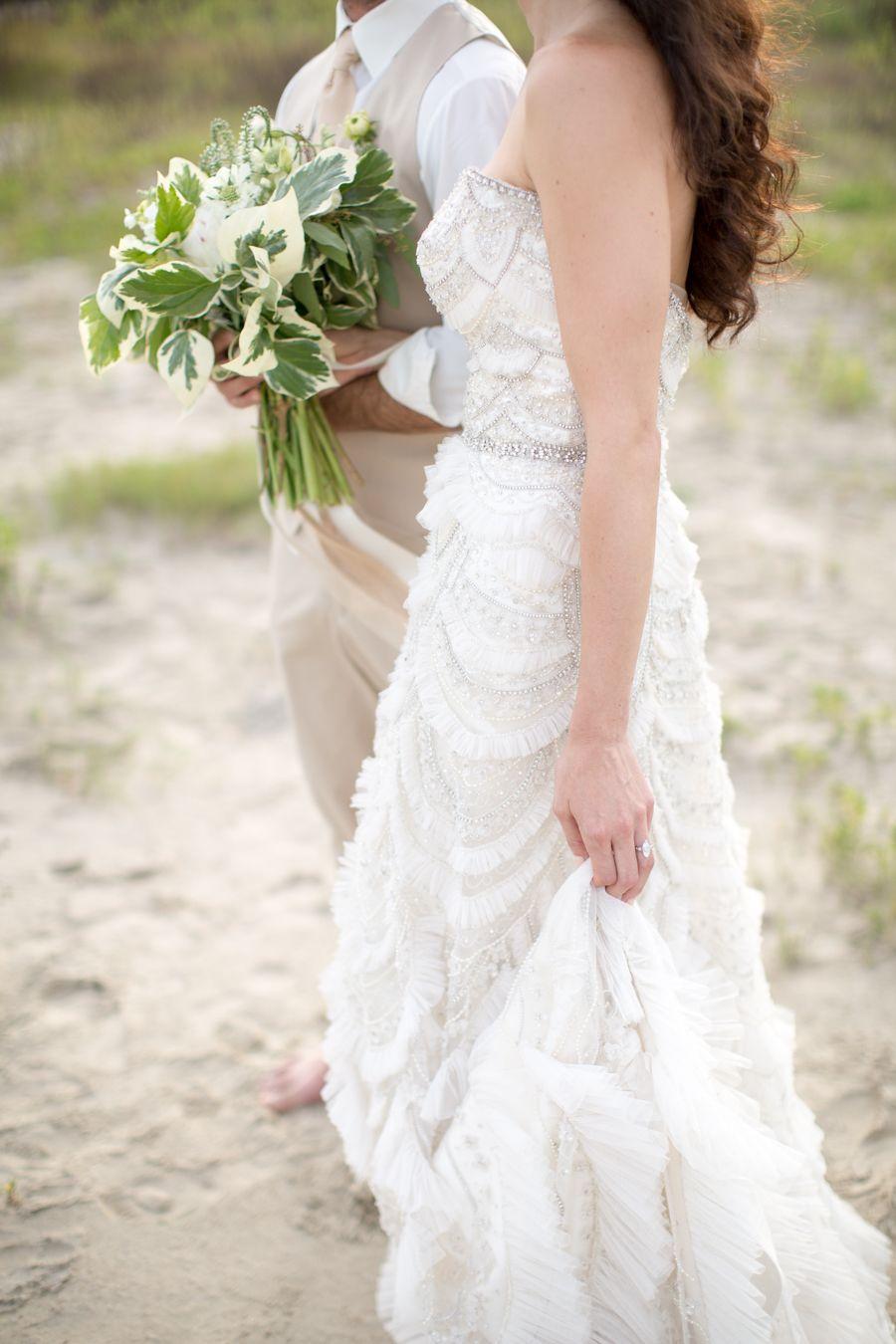 Gorgeous Shipwrecked Wedding Inspiration - MODwedding