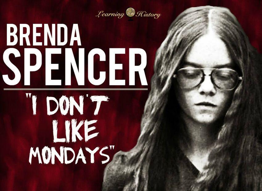 Brenda Spencer Cleveland Elementary School Shooting Via Learninghistory I Dont Like Mondays Evil Children Spencer
