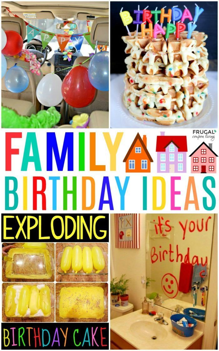 Family Birthday Celebrations Family Birthday Celebrations and Family Birthday Traditions for all ages