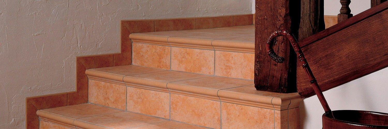 Soluciones para #escaleras: Colección de piezas especiales de Exagres #torelos en todos los colores - Exagres