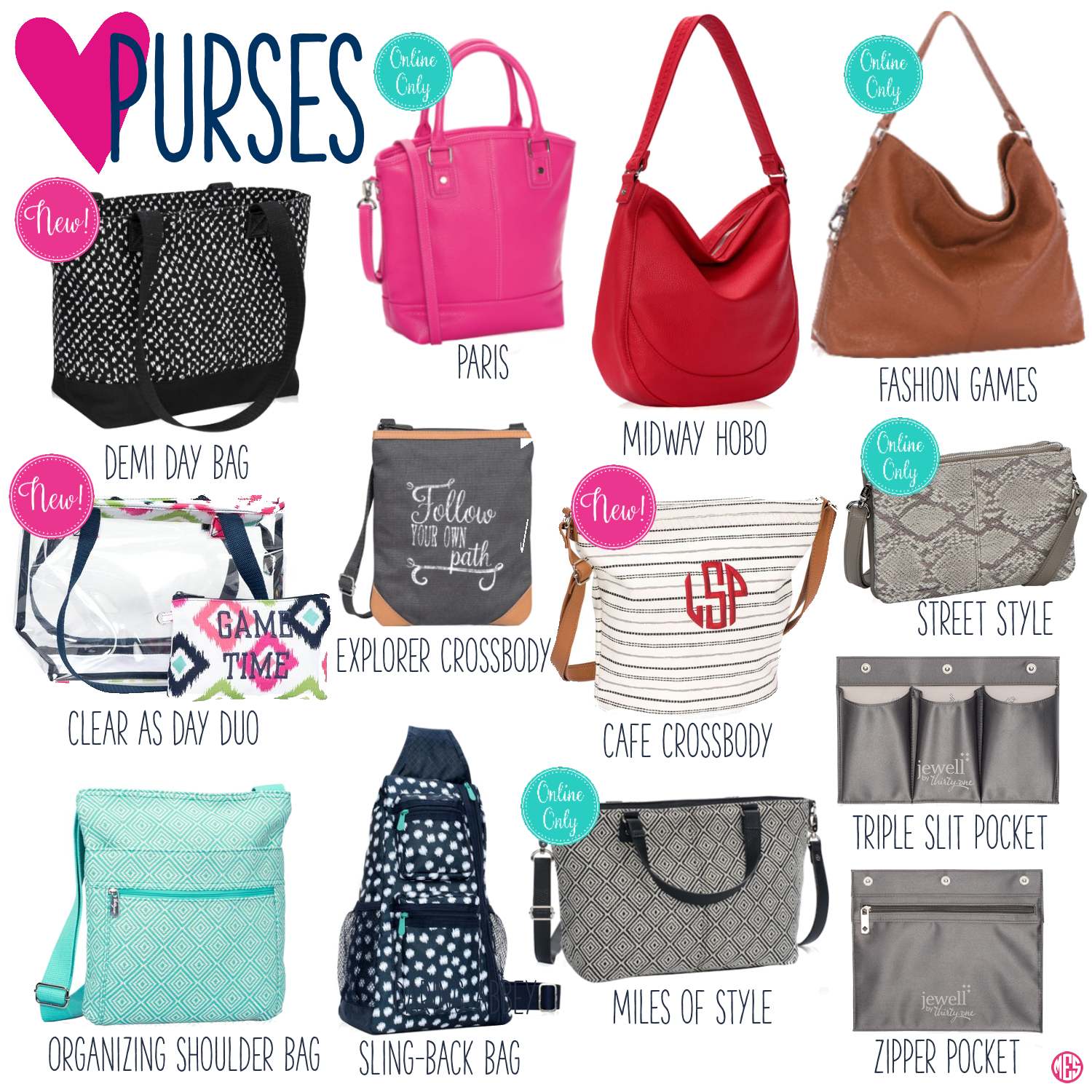 Thirty-One Purses | Thirty-One (Spring/Summer '17) | Pinterest ...